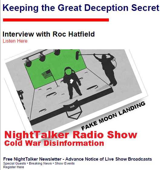 ROC HATFIELD RADIO INTERVIEW