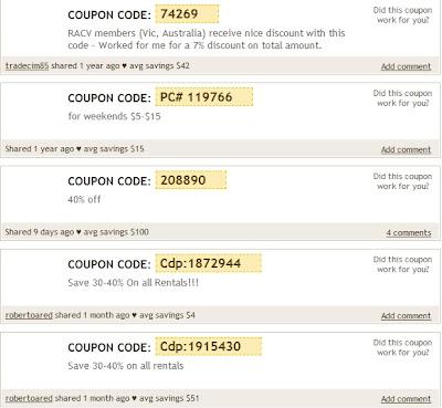50 coupons on hertz rental car usa