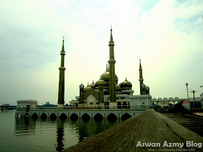 Masjid Kristal, Crystal Mosque, Visit Malaysia Year 2014