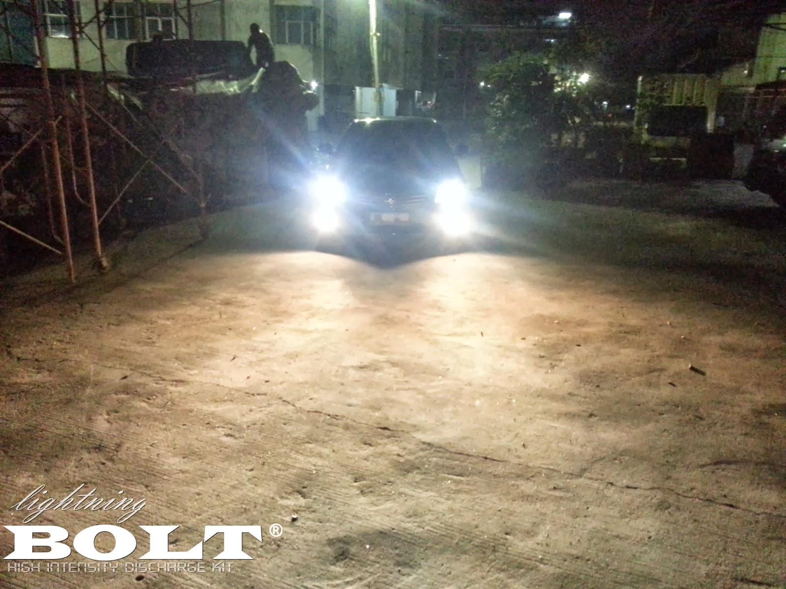 Lampu HID Mobil Lightning BOLT 6000k