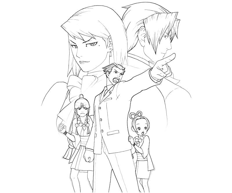 marvel-vs-capcom-phoenix-wright-character-coloring-pages