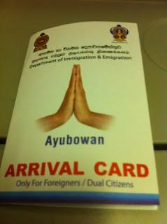 Formalité pour entrer au Sri Lanka