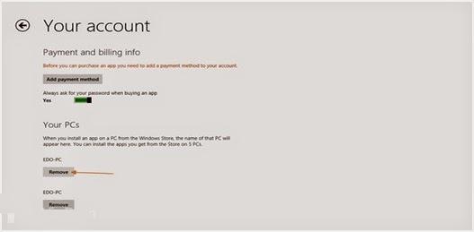 Cara Menghapus Nama PC Dari Windows Store Di Windows 8 Pada Komputer