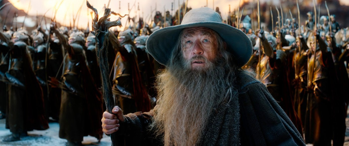 Ian McKellen in The Hobbit: The Battle of the Five Armies