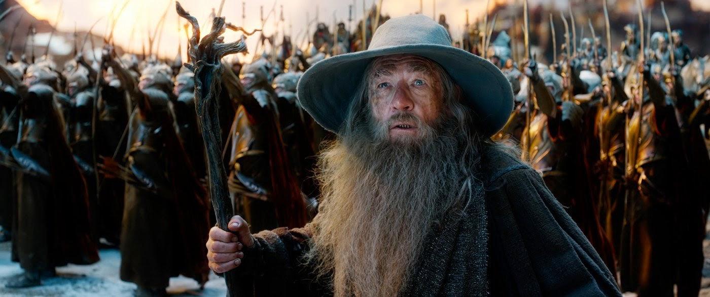 Ian McKellen in The Hobbit: The Battle of the Five Armies