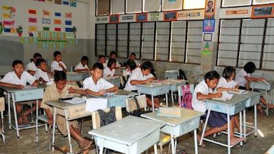 Dorfschule in Thailand