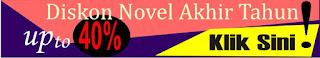 Diskon Novel Up To 40%