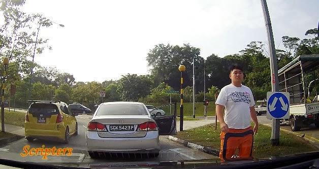 Pemandu Kurang Ajar Di Singapore Akhirnya Meminta Maaf