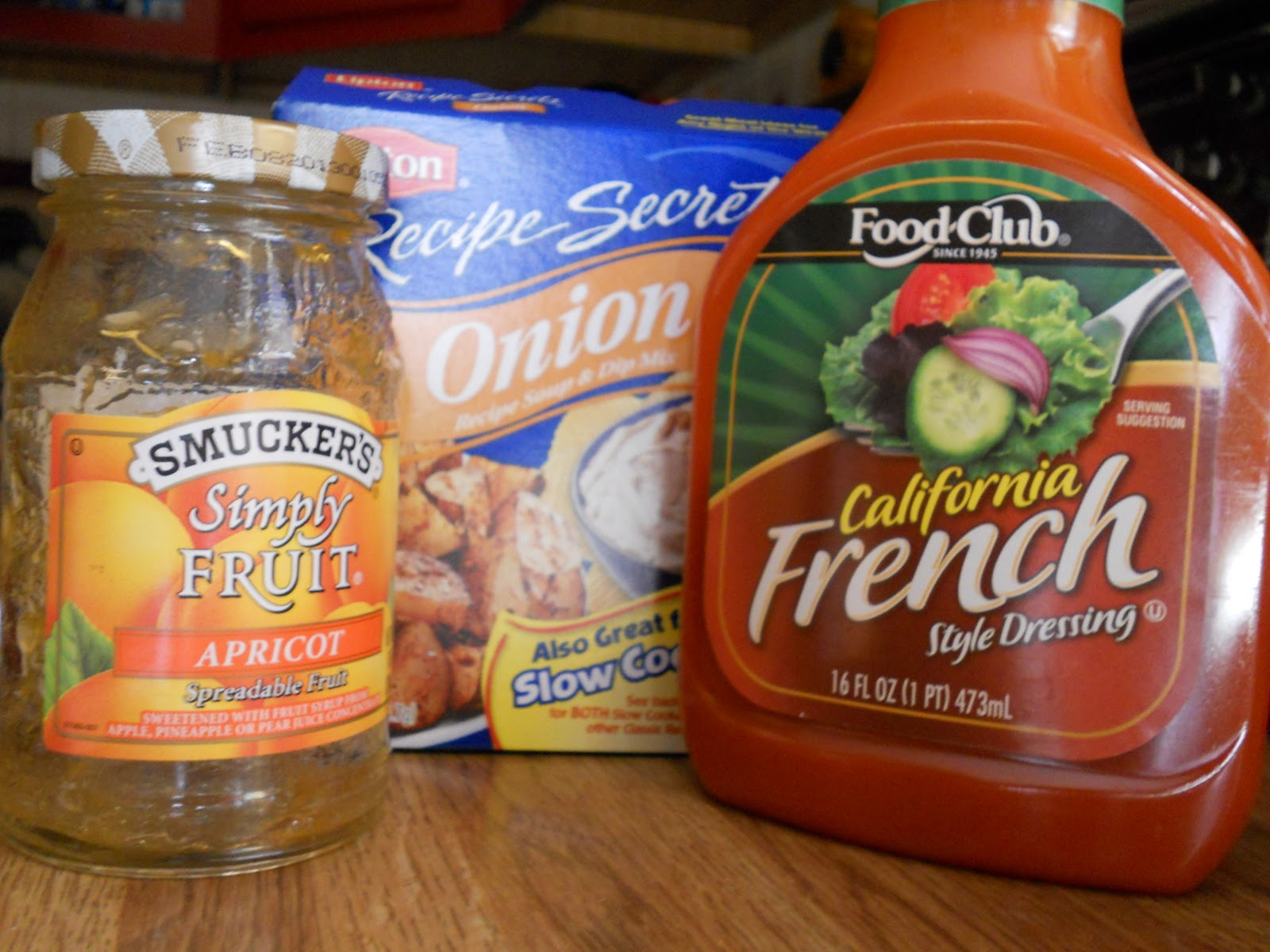 Chicken recipes french dressing