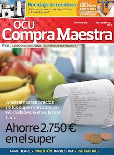 Revista: OCU Compra Maestra - Octubre 2011 [PDF | Español | 12 MB]