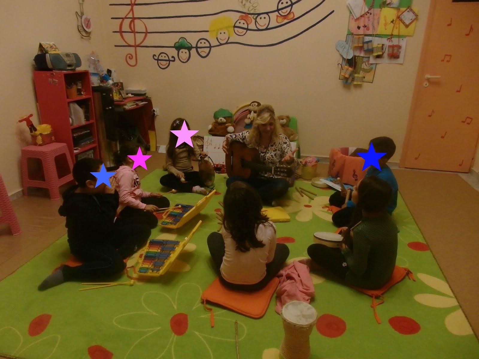 Η Ροδούλα και τα μουσικά της αστεράκια!!