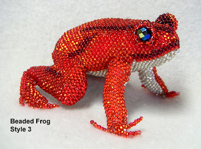 3D Beaded Frog - Bead&Button Magazine Community - Forums, Blogs