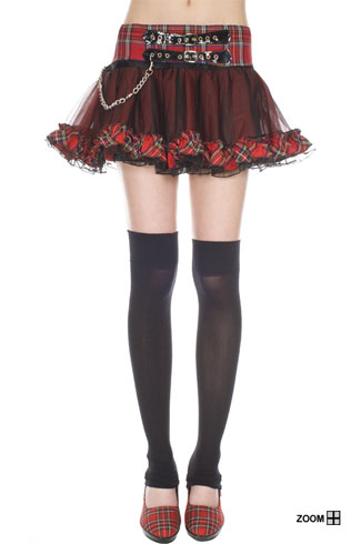 You could wear the Plaid Petticoat on its own or even ...