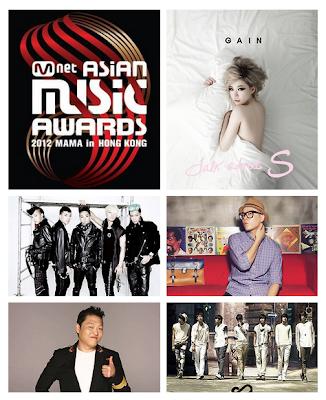 Mnet Asian Music Awards 2012 Best Music Video full list