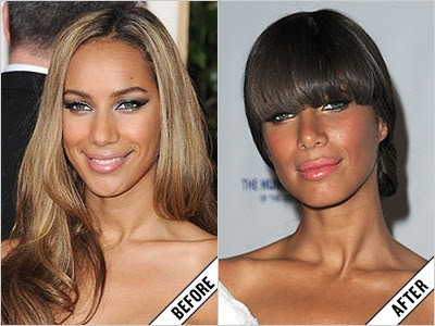 leona lewis before and after makeover 11 amazing new celebrity makeovers 2011