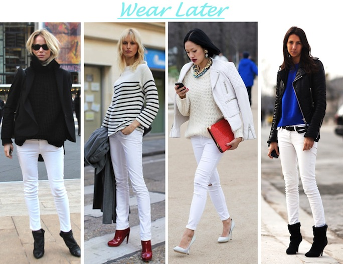 A Bit of Sass: Go Buy Now: White Jeans