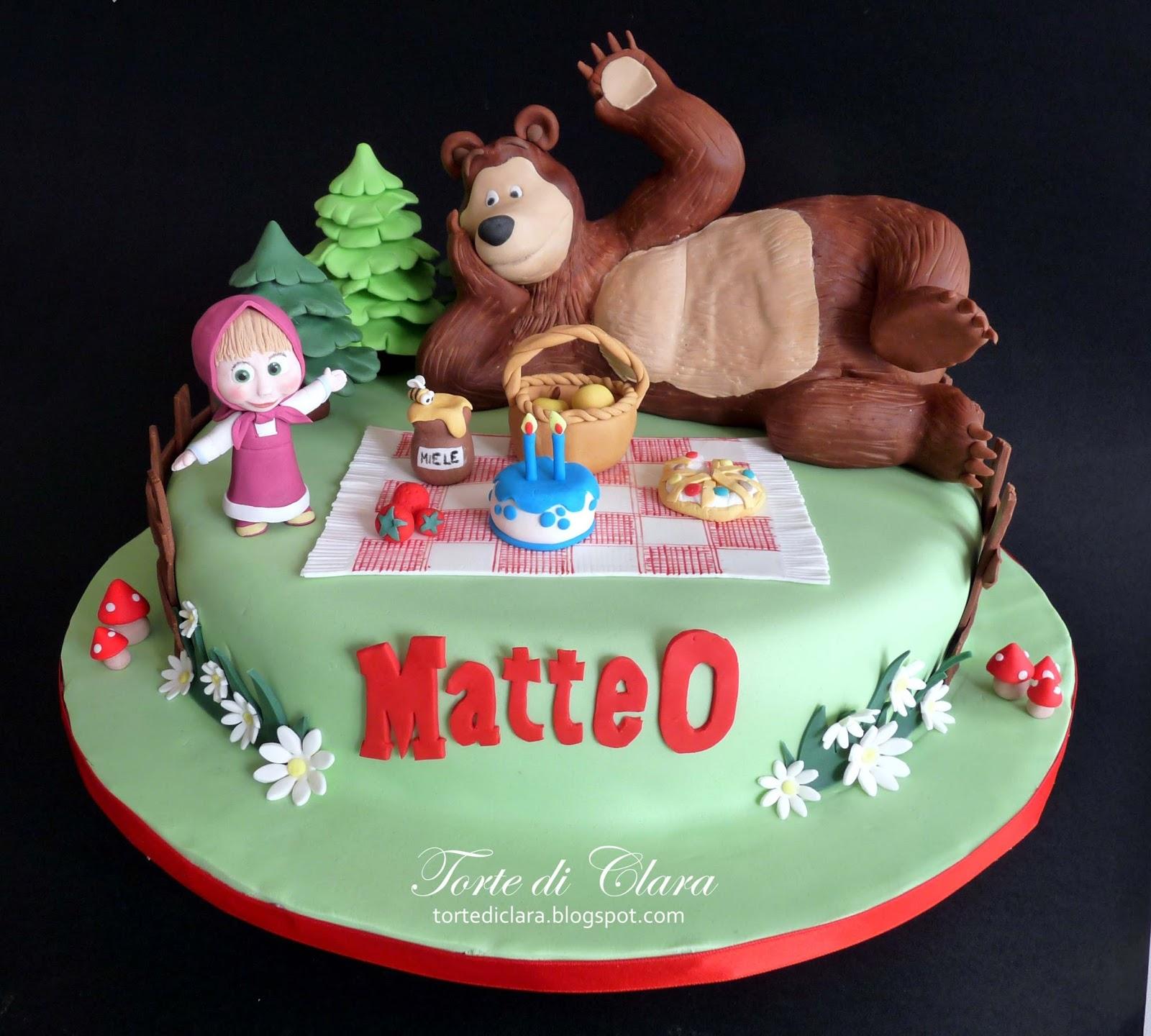Torte di Clara Masha and the Bear Cake