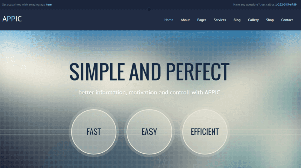 Appic - Business & Technology Bootstrap Template