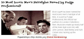 10 Hairstyles most iconic men named by Fudge Professional!