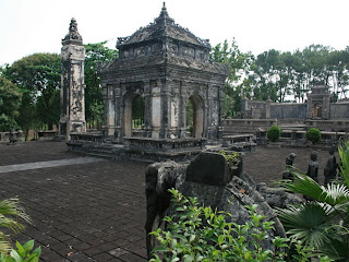 Imperial Tomb of Emperor Dong Khanh in Hue - Vietnam