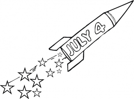 4th Of July Coloring Pages Let S Celebrate Coloring Pages For 4th Of July