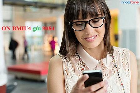 Đăng ký 3G Mobifone gói BMIU4