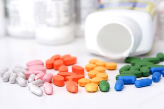 Pílulas coloridas