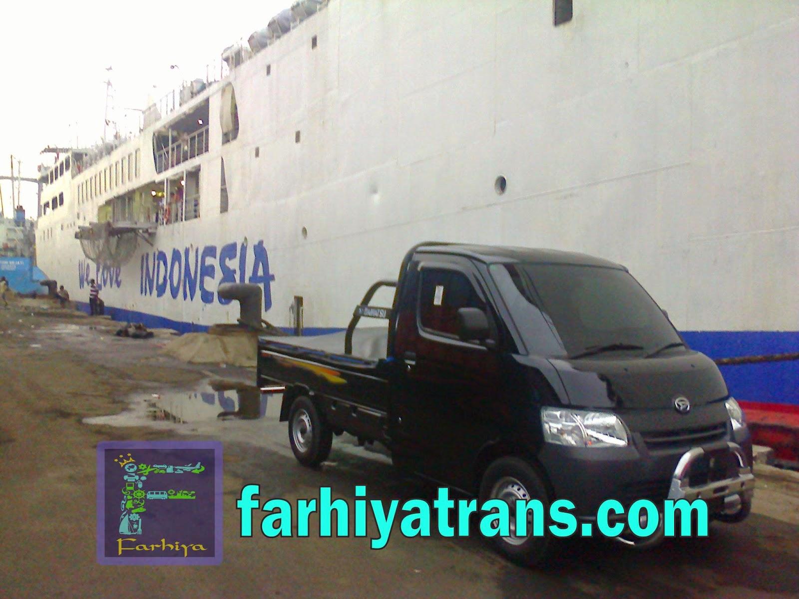 kirim mobil surabaya balikpapan kapal laut