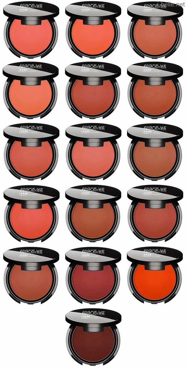 Le nouveau blush HD de MAKE UP FOR EVER #Whatsmakeyoublush