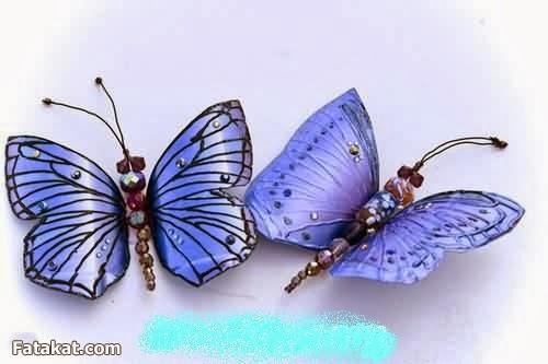 DIY Plastic Bottle Butterfly