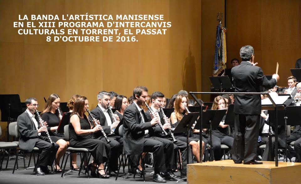 08.10.16 LA BANDA L'ARTIS- TICA MANISENSE EN TORRENT