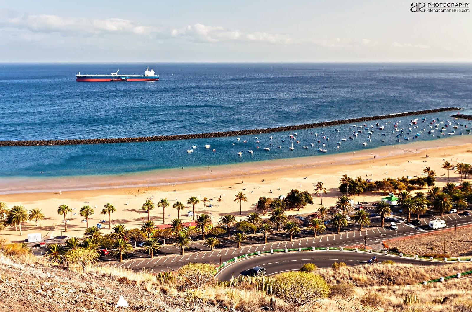 Тенерифе фото лучший пляж