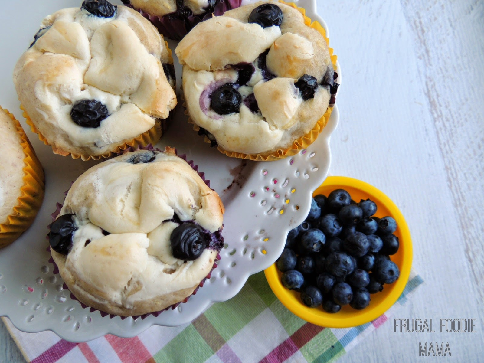... cream cheese frosting blueberry lemon cream cheese muffins are easy