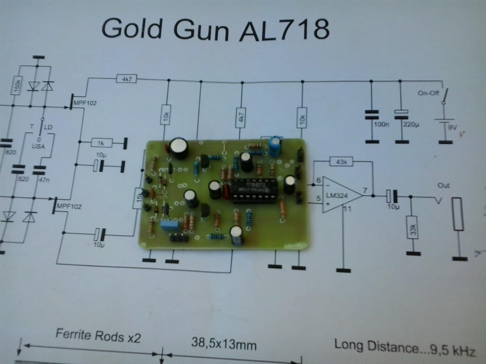 Gold Gun Al718 Pistol Detector Schematic Page 2 Longrangelocators Forums