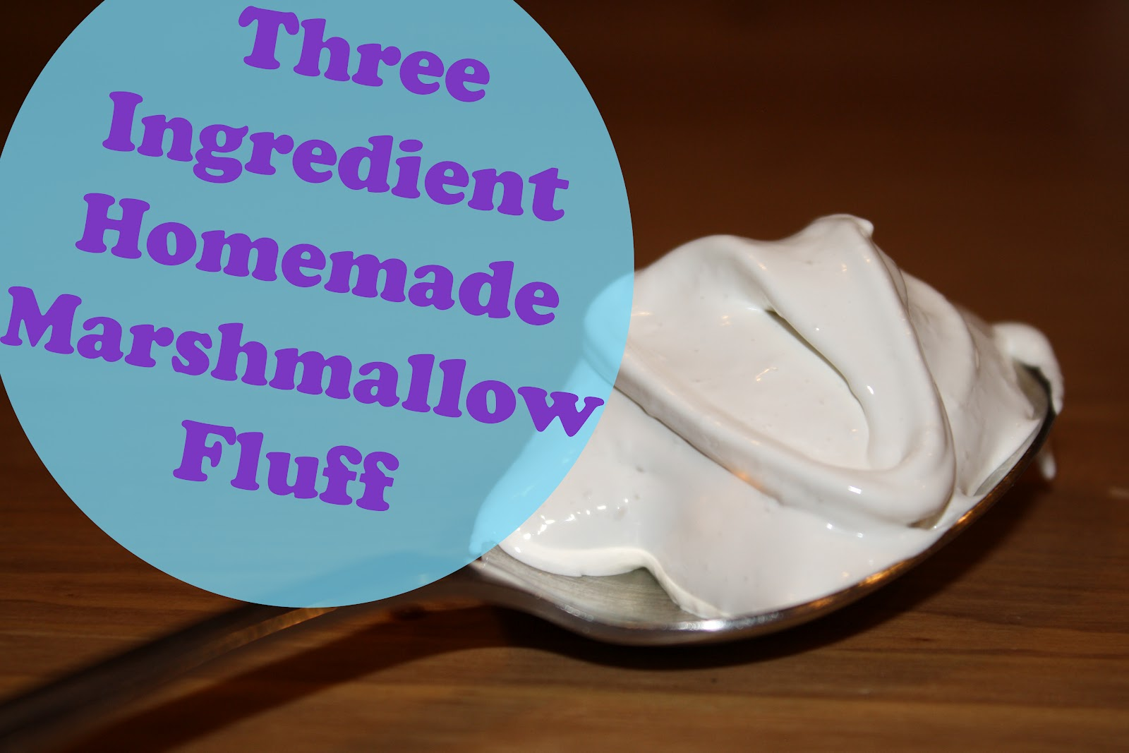 The Pieces to My Puzzle: Homemade Marshmallow Fluff