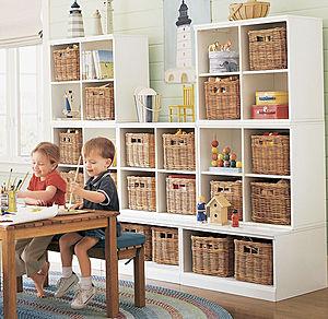 30 modelos de estantes para organizar tu casa casas - Cestos para kallax ...