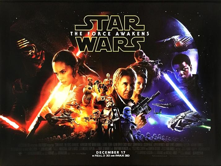 Póster: Star Wars: El despertar de la Fuerza