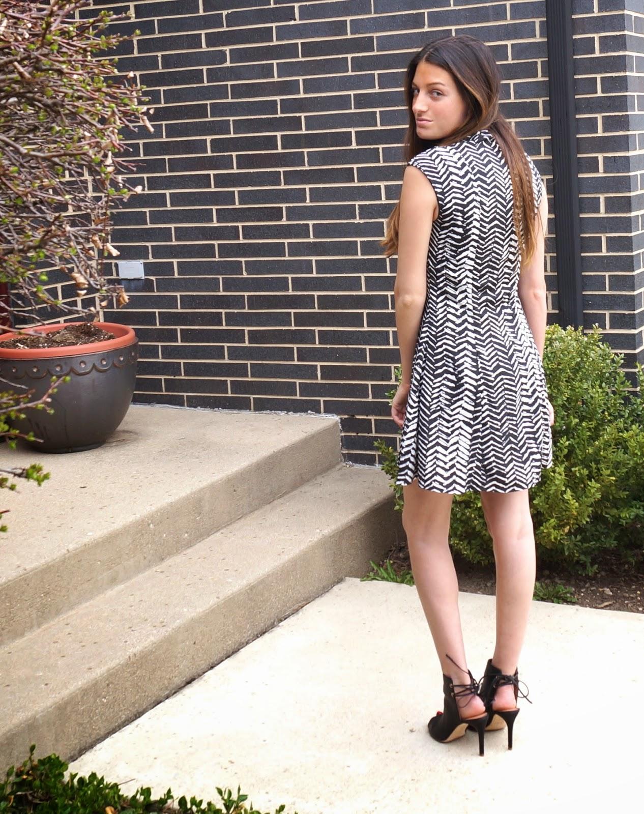 zebra dress bloomingdales
