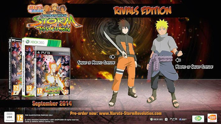 Naruto Storm Revolution Rivals Edition