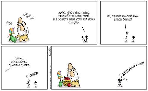 Tirinhas da Luna #53: 'Nova Criação' | Ordem da Fênix Brasileira