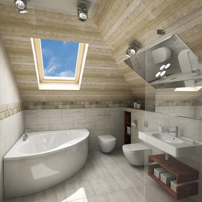 Design Interior Minimalis: Baños de Colores