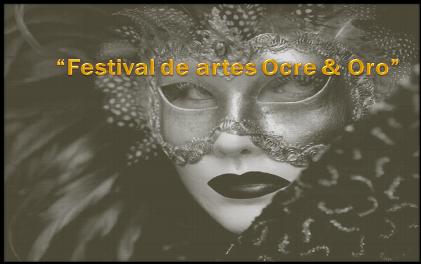 Festival de artes Ocre & Oro