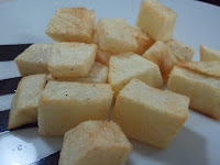 patatas fritas dados tacos