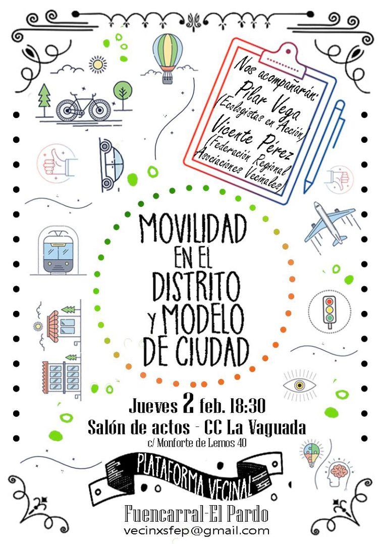2 de febrero Movilidad y modelo de ciudad