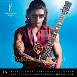 Farhan Akhtar on Dabboo Ratnani 2013 Calendar Hot Celebrities Photoshoot Stills