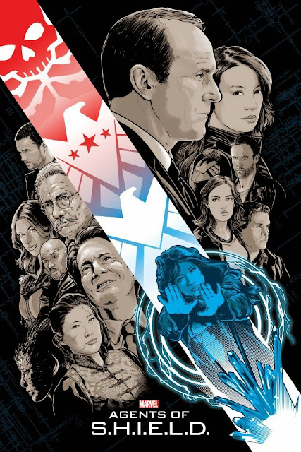 "Agents of SHIELD The Art of Evolution Print #12 - ""S.O.S. - Part Two"" by Joshua Budich"