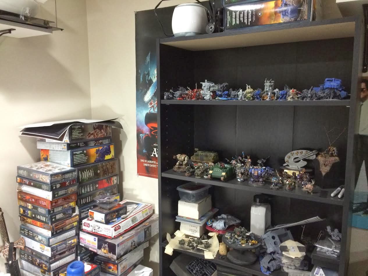 the room hobby blackwarden desk on horizon looking september sunday left