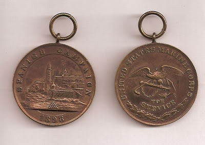 Spanish Campaign Medal belonging to John Fleming Walsh
