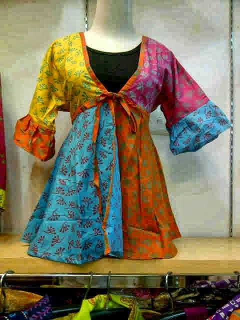 Model Baju Wanita Hamil Batik Modern