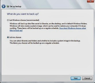 Cara Backup Data Pada Windows 7
